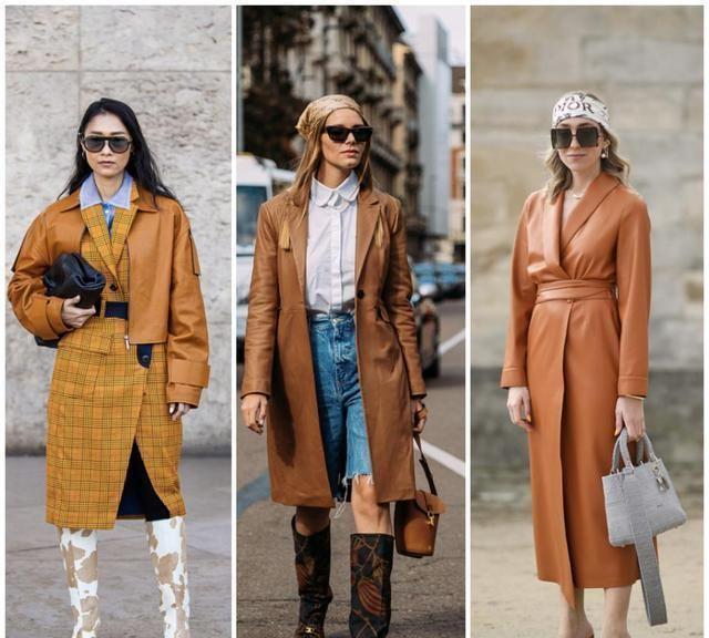 温柔又高级的棕色系穿搭,穿对了老有韵味了