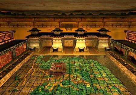 秦始皇陵墓为何至今没人敢发掘?你仔细看看卫星云图,就知道了