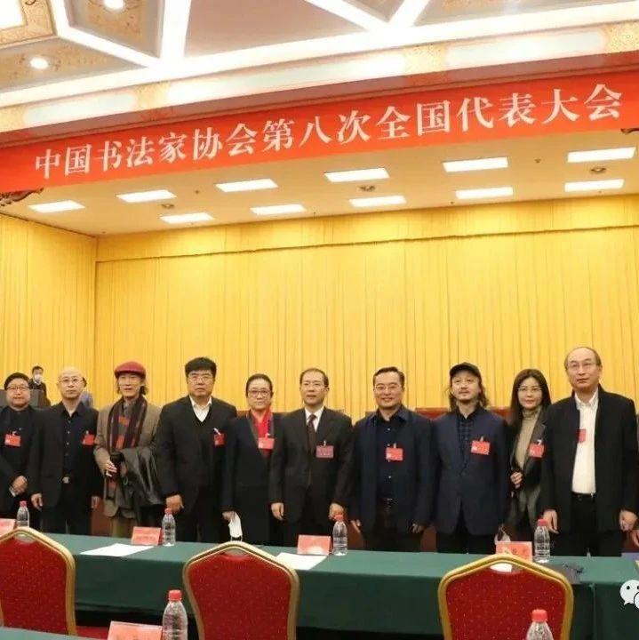 中国书法家协会第八次全国代表大会在京开幕(2020.1.26)
