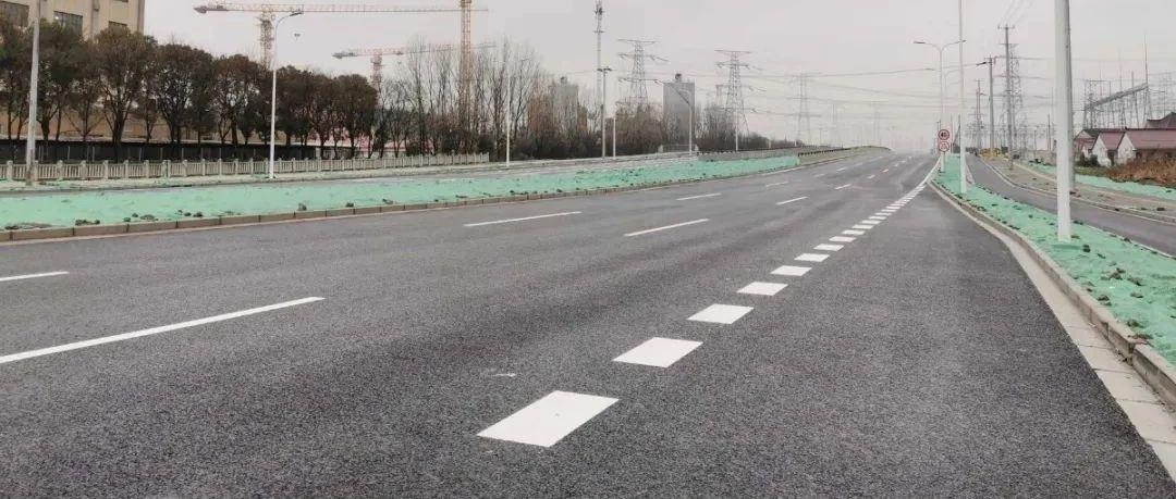 富长路(友谊西路-杨北路)段建成通车