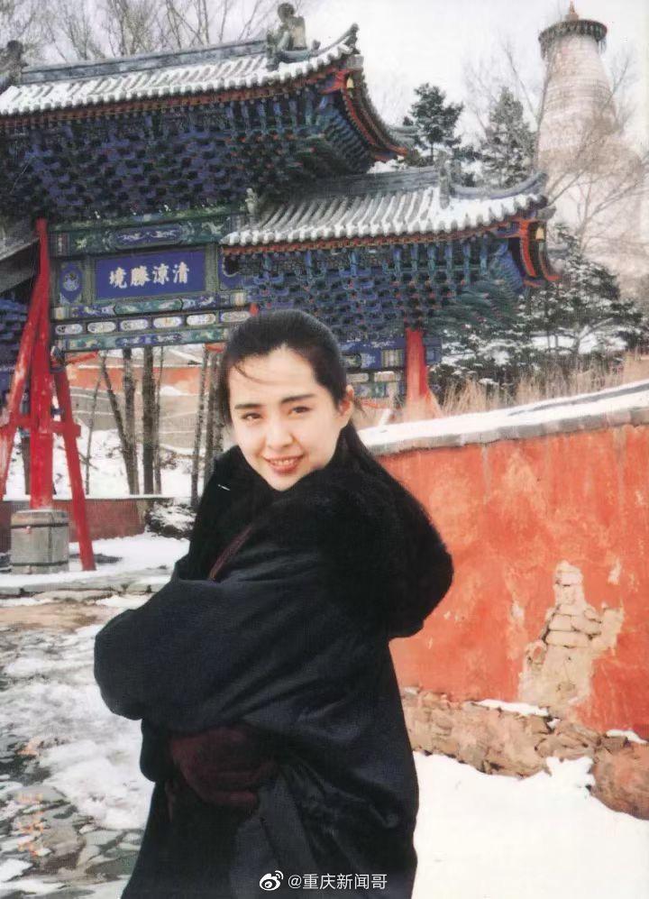 1992年,王祖贤在山西五台山