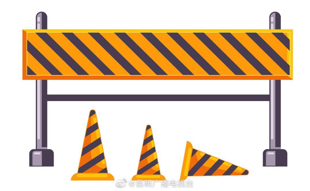 珥季路与广福路交叉口有施工围挡