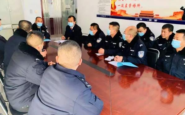 临县检察院就疫情防控工作与县看守所召开联席会议