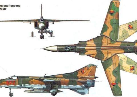 冷战时苏联大规模装备的米格23战斗机为何战绩不佳、饱受争议?