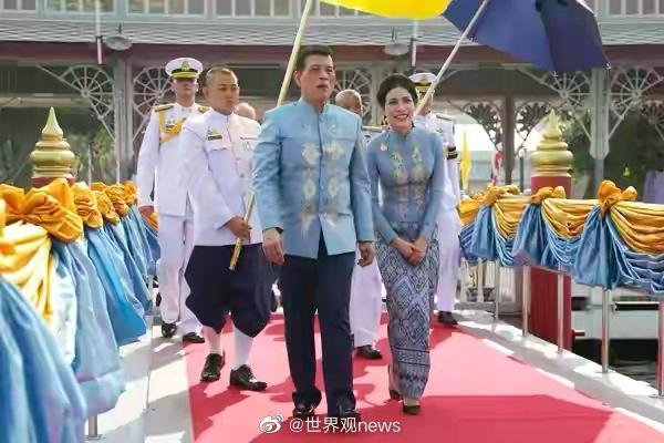 1月26日是泰国贵妃诗妮娜的生日……