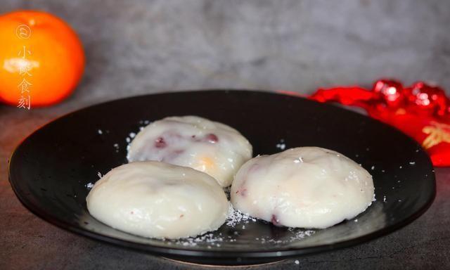 冬季,早餐别吃馒头包子了,做个紫米雪媚娘,吃着Q弹软糯营养足
