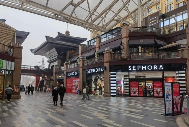 西安最早的开放式商场,随处可见年轻小姐姐,潮流爱好者的天堂