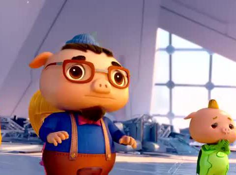 猪猪侠:五灵之力失控了,时空裂缝出现了,大家差点被吸走