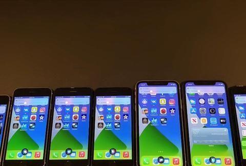 7款旧iPhone实测iOS14.4电池续航:这4款苹果手机续航有提升