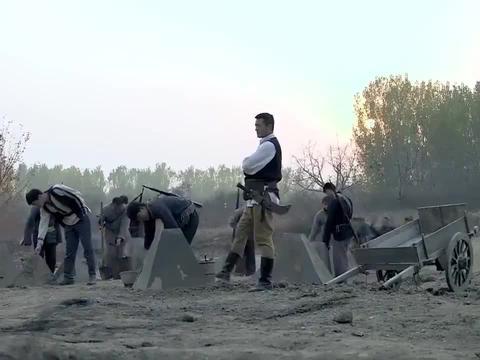 张若昀主演的《雪豹》,制作反坦克锥阻击鬼子,这一段太搞笑了