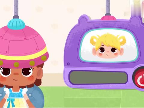 宝宝巴士:发型已经做好了,真的好漂亮呀,小伙伴喜欢吗
