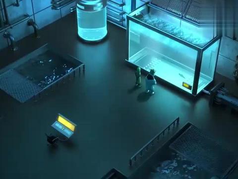 魔法海萤堡:实验室里惊现巨熊,坏人被吓一跳,摔倒在地上