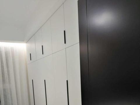 112平现代简约两居室,大气奢美空间,实现梦想当中的极致收纳