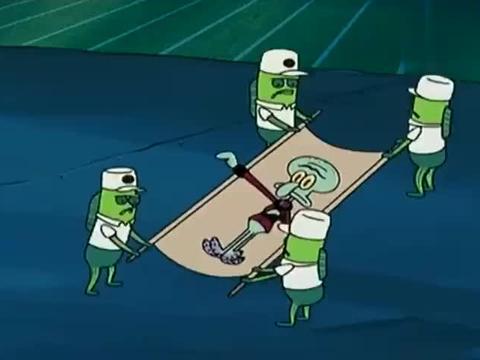 海绵宝宝:超级乐队,泡芙老师玩起电吉他,派大星玩架子鼓