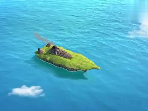 魔法海萤堡:坏人想吃红烧海鳗,结果一看到海鳗,发现是条巨无霸