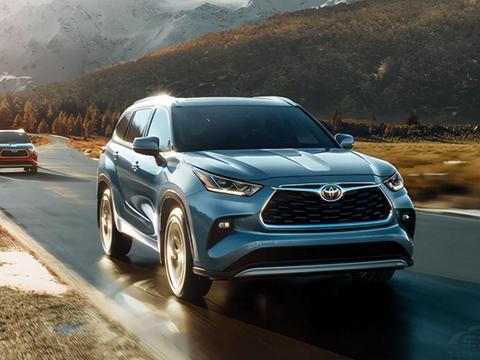丰田2021三款全新重磅SUV 能再次主宰合资SUV市场?