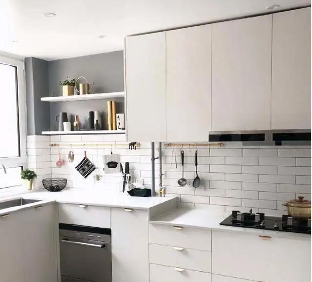 厨房空间做高低台,增加10cm反而实用