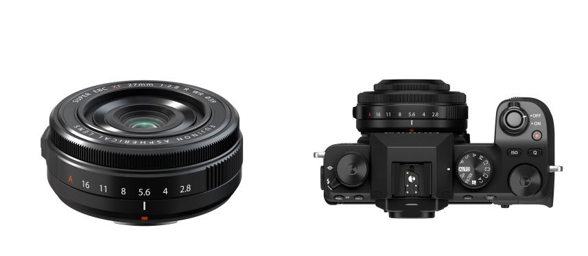 适用于X系列相机的紧凑型、防尘防滴、饼干镜头