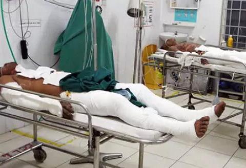 6名男子聚餐时规定谁不喝酒就浇汽油,不料全都烧成重伤进医院