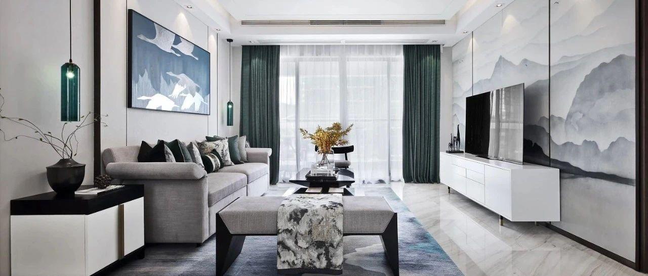 250㎡新中式,禅意优雅的别墅,安静端庄高级,诗意人生好舒适