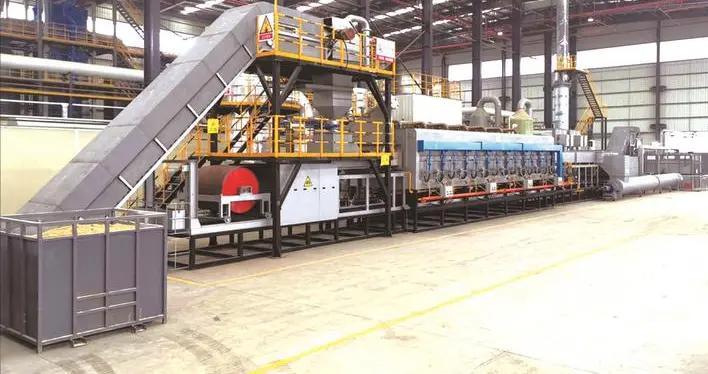 铜金属回收率99.5%以上,每吨处理成本低于200元