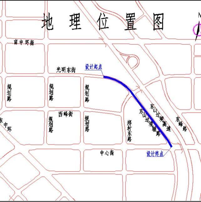 太原将建东山过境辅路设计时速40公里
