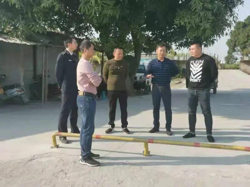 揭阳南河海事处联合多部门开展节前渡口渡船安全检查