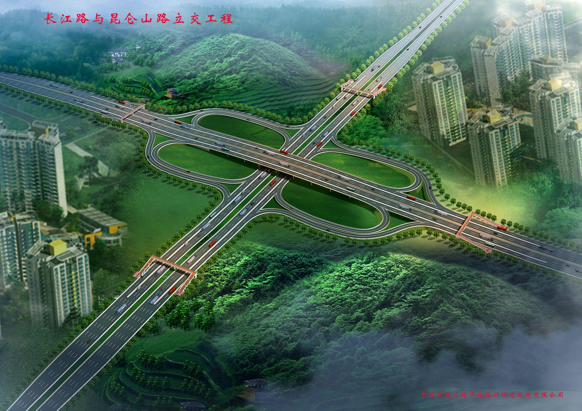 长昆立交北半幅桥梁建成通车 将缓解滨海大道拥堵