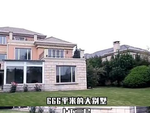 李湘北京豪宅曝光,666平奢华像宫殿,5499万自带泳池酒吧
