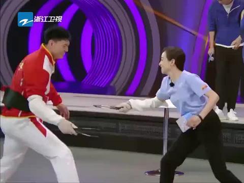 来吧冠军:王嘉尔竟让宋茜这样做,何炅听后立马乐了