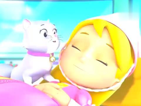 动漫:猫子唤醒了沉睡中的公主,公主帮助火龙解开胡须