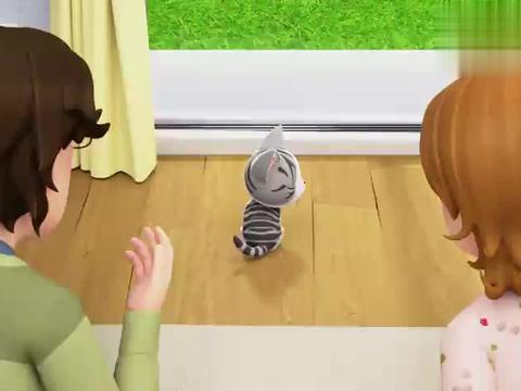甜甜私房猫:小奇假装生气,爸爸妈妈一顿惶恐,这段也太逗了
