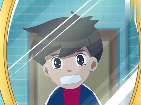 牙牙精灵战队:小男孩多长一颗牙,妈妈很担心,找了牙牙精灵