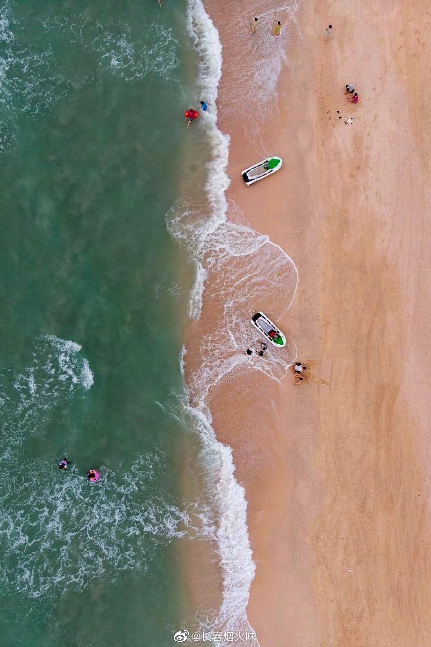 走进涠洲岛, 去石螺口海滩静候一场日落 石螺口海滩……