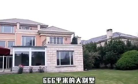 李湘5000万豪宅曝光,客厅高6米似宫殿,网友:上综艺直播赚的?