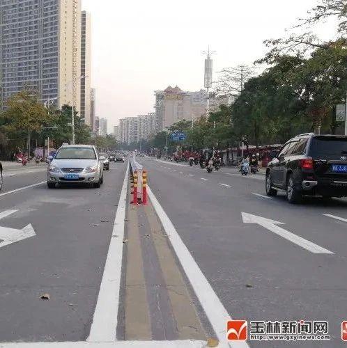 全线按双向六车道布设,玉城这条大道改造提升工程基本完成