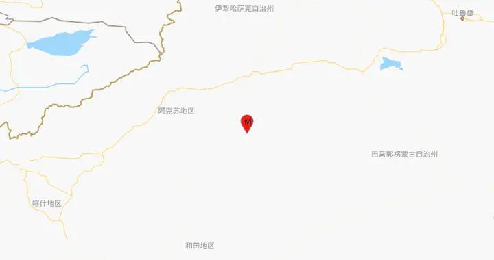 新疆阿克苏地区沙雅县发生3.2级地震