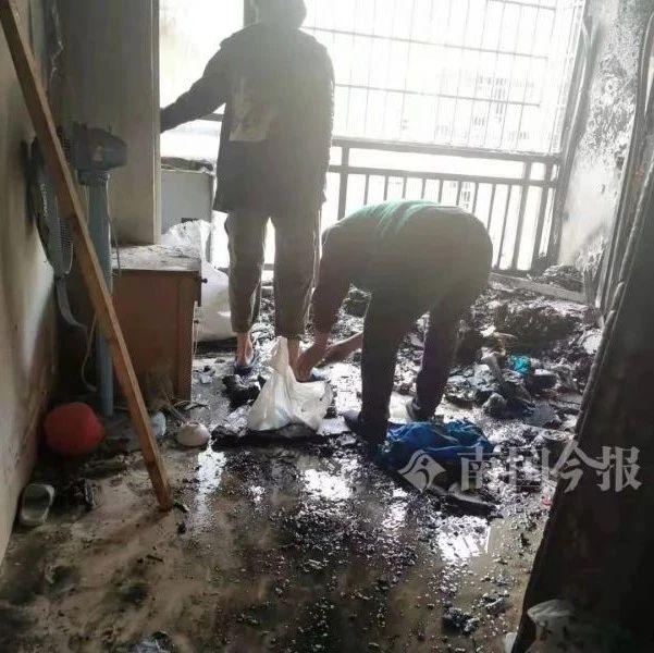 柳州5岁双胞胎在家一个操作,引发家里熊熊大火!
