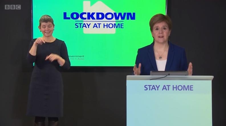 约翰逊欲访问苏格兰 苏格兰首席大臣:大可不必