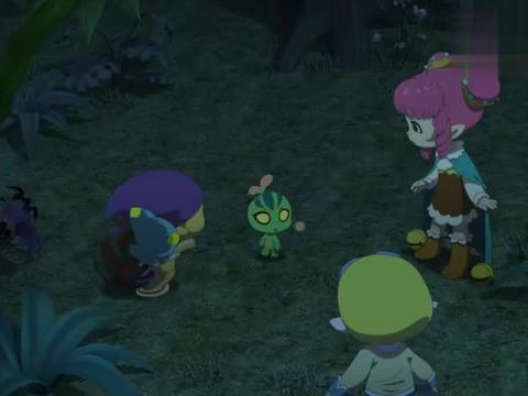 洛克王国:洛克抓了小虫,引来了不少食人草,大家非常小心