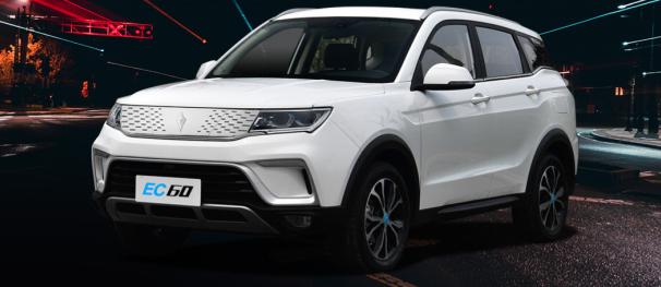 野马EC60新能源SUV上市,是超值还是有待考验?