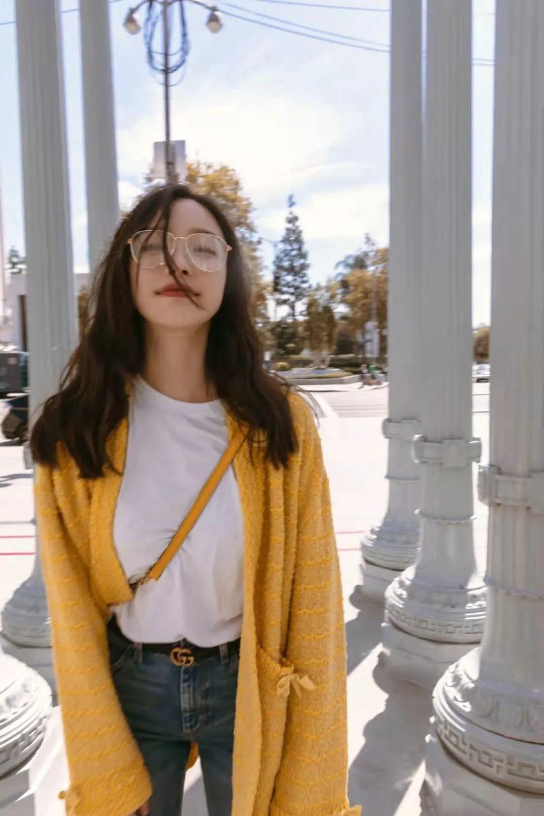 撩人眼镜妆 据说全网都在求倪妮宋妍霏眼镜半永久