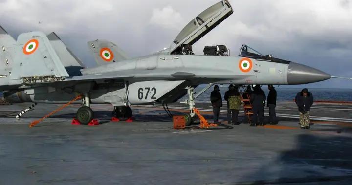 俄罗斯吃定印度海军:还得接着买米格-29K