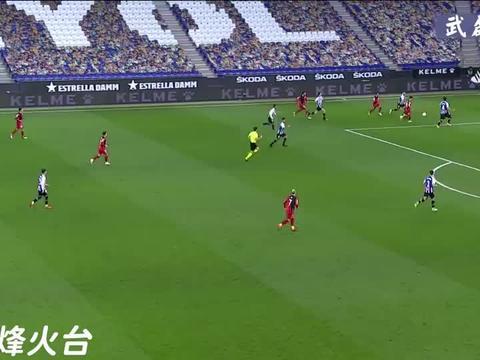 「武磊时刻」西班牙人2-3巴列卡诺,武磊个人集锦+全场进球