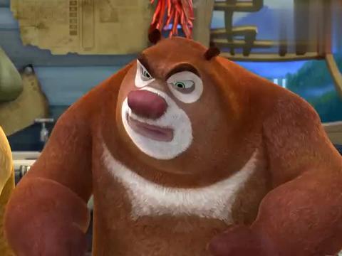熊出没:强哥偏食不吃菜,熊大熊二担起责任,成了强哥御用营养师