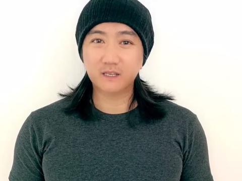 41岁演员叶静罕露面,长头发花白胖若两人,绯闻女友涉毒进局子