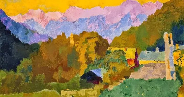 瑞士色彩大师奥古斯托,抽象艺术的先驱