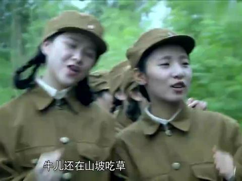 一车女兵支援前线,不料竟被鬼子围堵,下秒只剩惨叫!