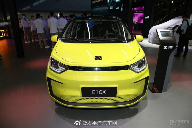 思皓E10X外观以江淮iEV6E为模板打造……