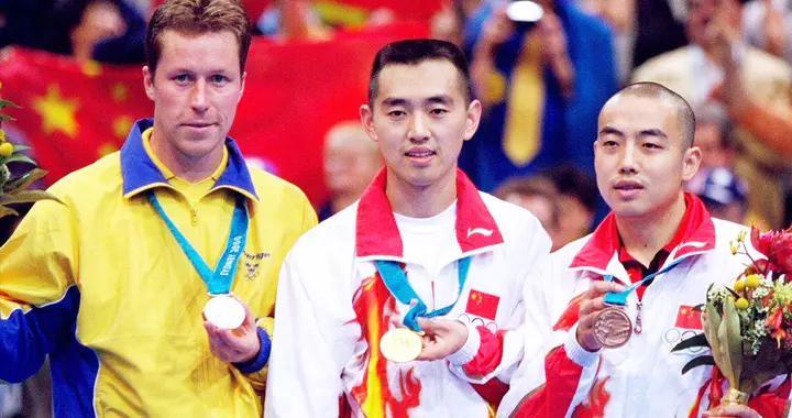 孔令辉、瓦尔德内尔、刘国梁决战悉尼奥运